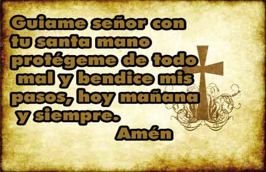 Oración de protección católica