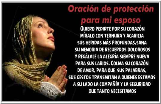 Oración de protección para mi esposo