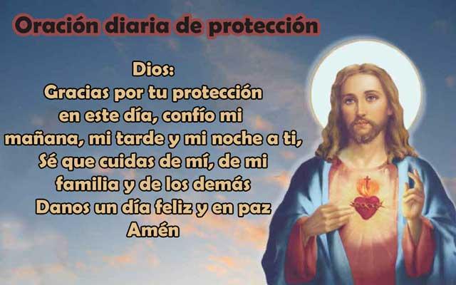 Oración diaria de protección