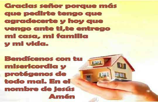 Oración de protección para el hogar destacada