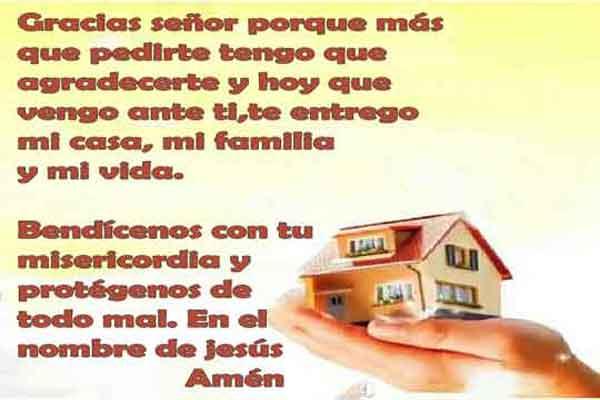 Oración de protección para tu hogar