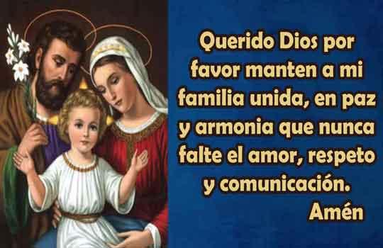 Oración de protección para mi familia