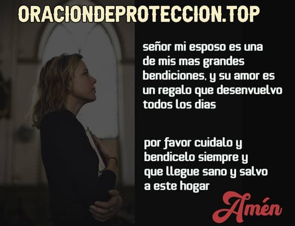Oración católica para proteger a mi marido