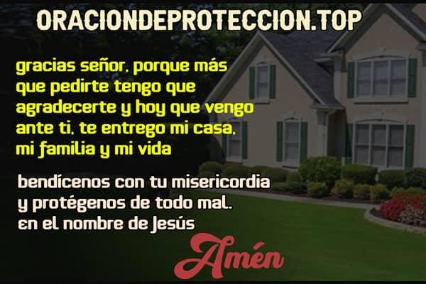 Oración para bendecir mi casa