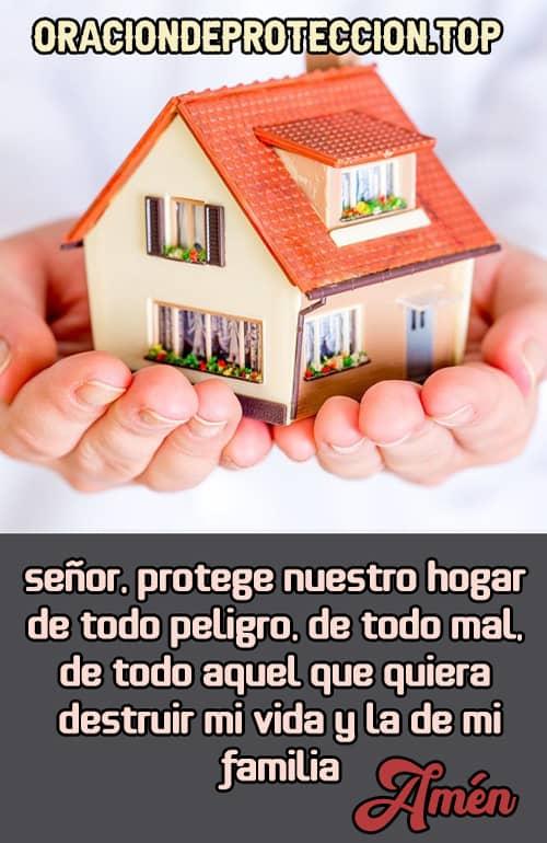Oración para pedir protección de un hogar católico