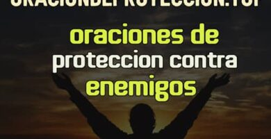 Oración de protección contra enemigos
