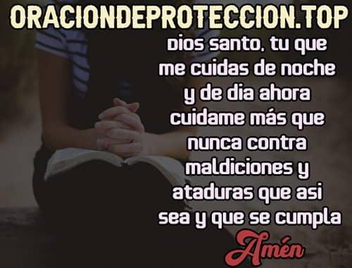 oración para protegerse contra maldiciones