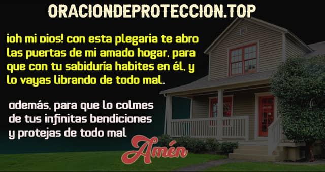 Salmo para bendecir el hogar contra todo mal y peligro