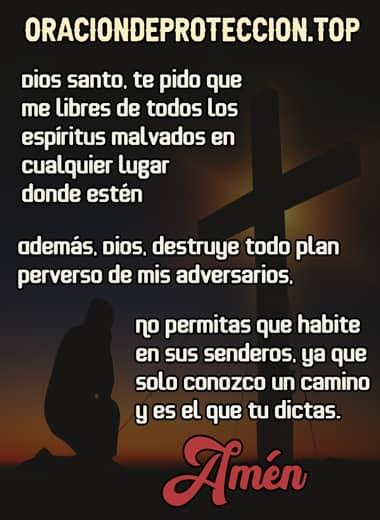 oración cristiana para protegerse de todo mal