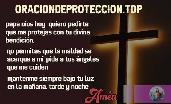 rezo cristiano para protegerse de malas intenciones